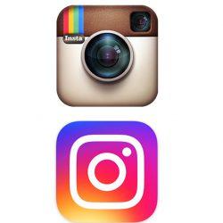 Oud versus nieuw logo Instagram Flex Online Marketing