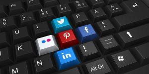 Social media toetsenbord Flex Online Marketing