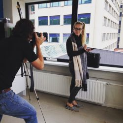 Maken van foto's Flex Online Marketing door Justin Communications