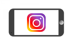 Instagram logo phone