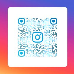 QR-code Instagram account