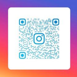 QR-code Instagram account