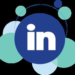 Logo LinkedIn rond